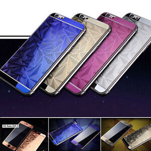 3D-Diamond-Tempered-Glass-Front-Back-Screen-Protector-For-iPhone4-5s-6-6splus-UT