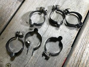 4 Vintage NOS Shimano Bicycle Cable Clamps Brake Shifter Road BMX Bike Clamp