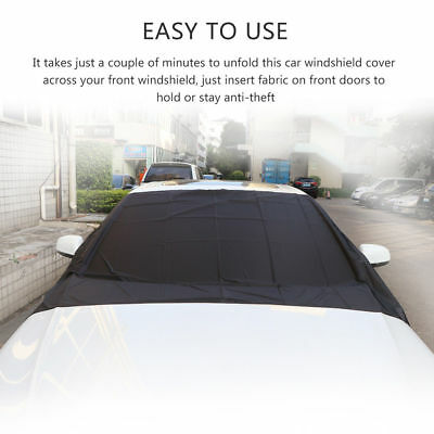 Anti-frost Windscreen Cover Snow Ice Protector Windshield for Mercedes GLC Class