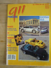911 & Porsche World Magazine no.8 Spring 92 Almeras Turbo 4-cam 356 Techart