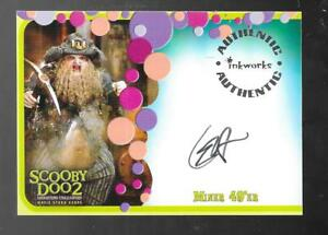 Scooby Doo 2 Monsters Unleashed Autograph Card A 7 C Ernst Harth Miner 49 Er Ebay