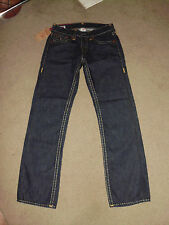 TRUE RELIGION Men's RICKY SUPER T Stitched NWT 32 x 34 Inglorious wash Jeans