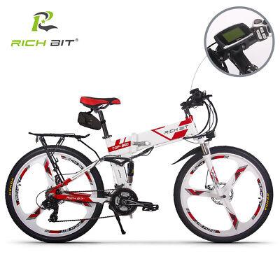 RICHBIT36V*12.8AH elektrofahrrad 250W e bike klapprade 26 zoll 21-Gang  pedelec