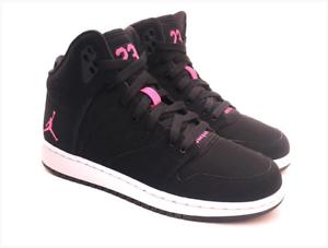 Details about 828245 009 Nike Air Jordan 1 Flight 4 Prem GG Hi Top Trainers BLACK YOUNG GIRLS