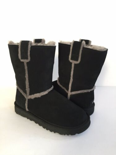 Short Shearling 5 38 naad Spill Vk 7Eu Ugg Boots Klassiek Black Us TkiPXZOu