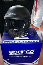 Nuovo casco Sparco New air pro RJ 5i taglia M attacchi hans e interfono peltor