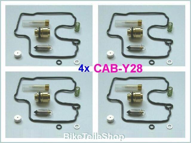 4x Repair kit f. Carburetor Carburettor Carb YAMAHA YZF 1000 R Thunder Ace 96-01