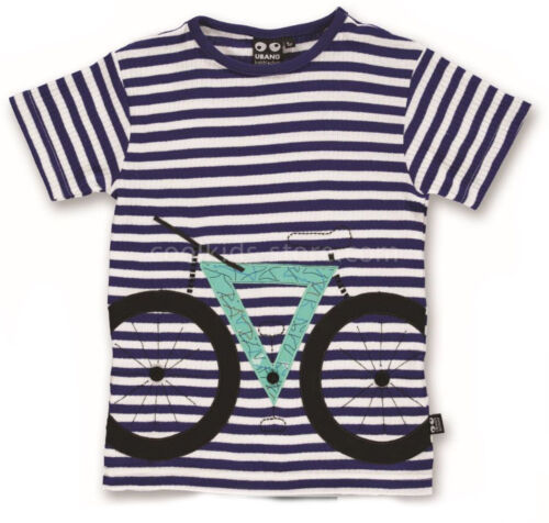98 104 110 116 122 128 NEU UBANG babblechat T-Shirt Bike Fahrrad grau blau  Gr
