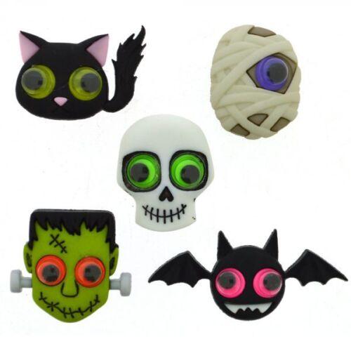 Dress It Up Botones álbumes de recortes Artesanías Halloween Jeepers Creepers