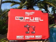M18 FUEL™ 2-Tool Hammer Drill Impact Combo Kit (2) 5.0 Batts