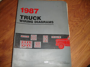 1987 Ford BRONCO Full Size Electrical Wiring Diagrams ...