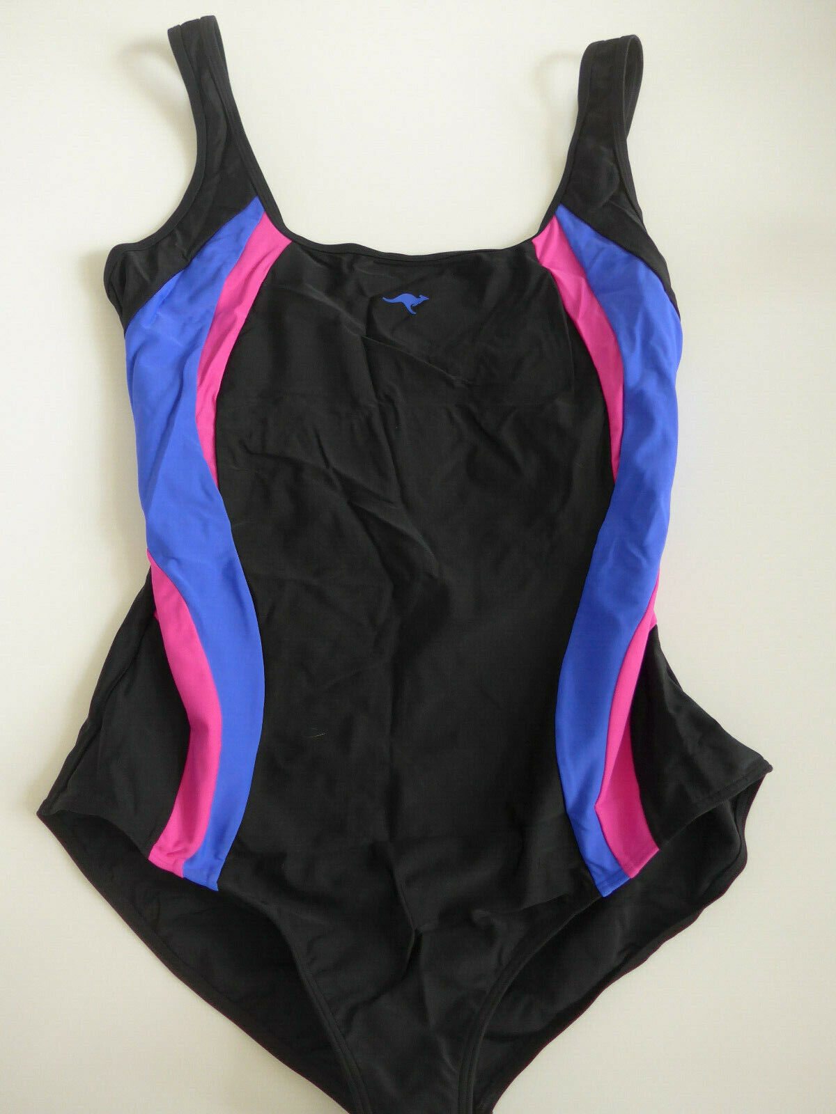 Kangaroos Swimsuit Size 42 - 52 Slimming Suit Black with Pattern (043) NEW