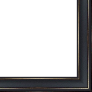 18ft bundle 3//8 rabbet depth Contemporary Black Finish Picture Frame Moulding 0.75 width Wood