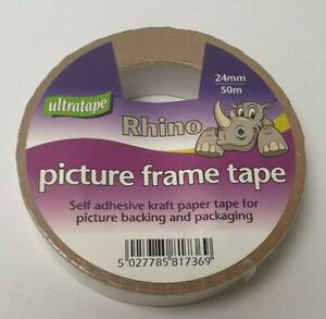 Ultratape-Rhino-Kraft-Marco-varias-anchuras-y-Paquetes-de-Cinta-de-Sellado