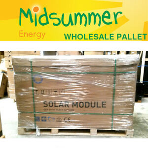 100w 250w 270w Pallet Wholesale Price Solar Panels