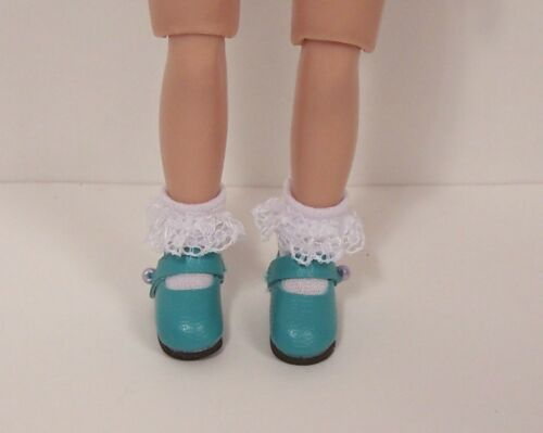 """Debs AQUA Basic Doll Shoes For 8/"""" TINY Ann Estelle /&TINY Betsy McCall"""