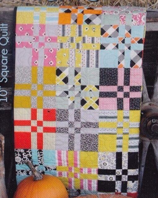 Katie - easy pieced quilt PATTERN - GE Designs