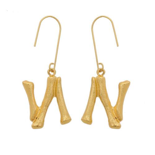 26 Letter Fashion Women Drop Dangle Earrings Alloy Jewelry Wedding Ear Stud Gift