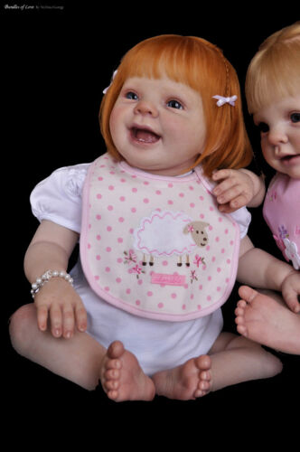 REBORN DOLL SUPPLIES LaDyBuG DoLL KiT By DoNnA RuBeRt WITH DOLL BODY AND EYES