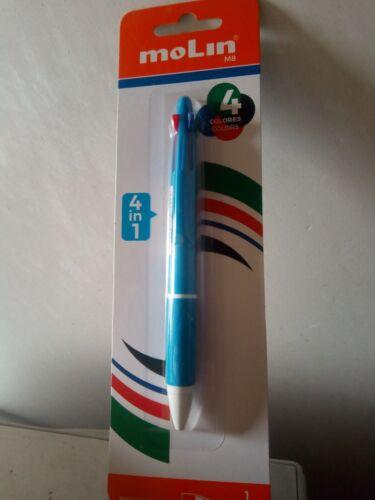 rojo negro Boli de 4 colores azul verde antideslizante boligrafo 1 mm punta