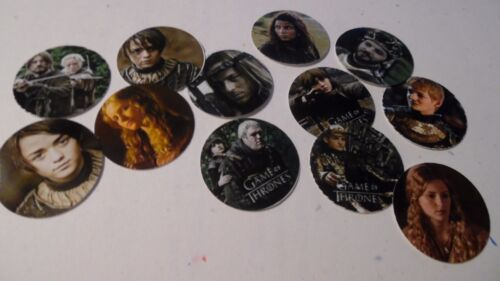 Pre Cut One Inch Bottle Cap Images TV GAME OF THRONES Free Shipping