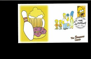 2002-First-day-Cover-The-Simpsons-Los-Angeles-CA