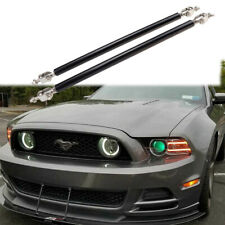 2x Adjustable Universal Car Front Bumper Lip Splitter Strut Rod Tie Support Bars Fits More Than One Vehicle
