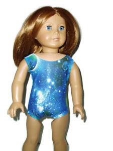 Sparkly-Galaxy-Leotard-fits-American-Girl-18-034-doll-clothes-Gymnastics-Gal-4
