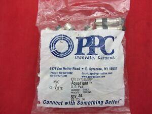 RG11 PPC EX11N716WSPLUS EX11 AQUATIGHT QTY 50 COAX COMPRESSION CONNECTOR