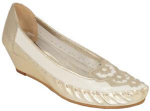 Ladies 'Mocasín zaccho 101W Blanco EU Talla 36 - 42 (UK 3.5 - 8) Accesorio estándar