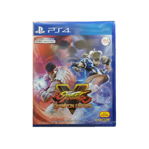 Street-Fighter-V-Champion-Edition-5-PlayStation-PS4-2020-English-Chinese-Sealed