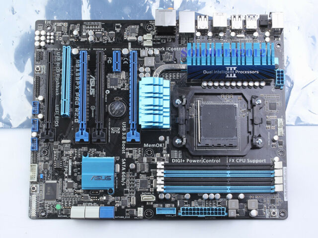 ASUS M5A99FX PRO R2 0, AM3+, AMD Motherboard