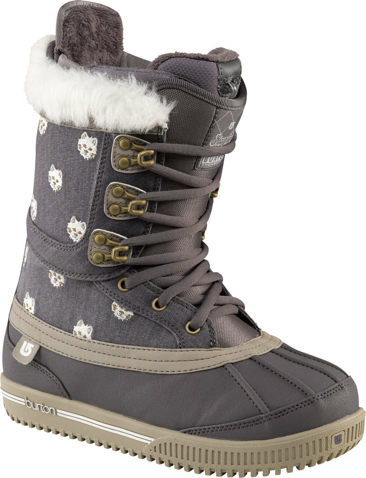 BURTON STERLING WOMEN'S SNOWBOARD BOOT - COLOR  LAVENDER - SIZE  6- BRAND NEW