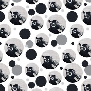 Headphone-Chimp-Monkey-Wall-Premium-Gift-Wrap-Wrapping-Paper-Roll