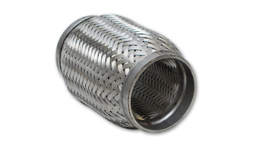 """VIBRANT STAINLESS STEEL FLEX PIPE WITH INNER BRAID 3/"""" in//out x 4/"""" length 63004"""