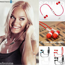 Bluetooth 4.1 Sans fil Sport Écouteur Casque Stéréo pour Téléphone portable MP3
