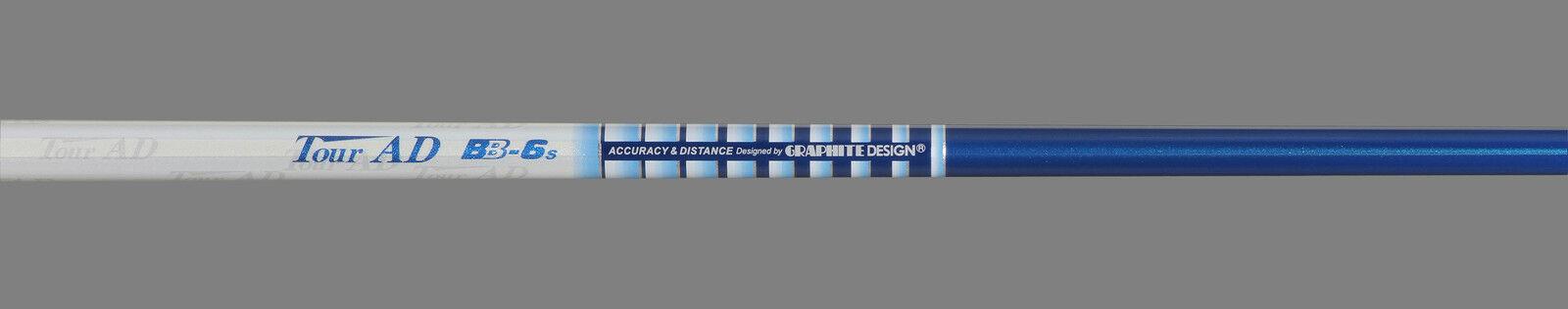 Nouveau graphite design Tour Ad BB-6  SR  Flex Graphite Conducteur Arbre avec .335  Astuce