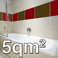 5,00 m² Fliesenfolie Fliesenposter Küche Bad Aufkleber