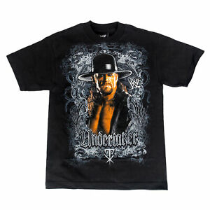 WWE-The-Undertaker-Image-Black-T-shirt-Adult