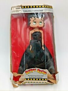 """Betty Boop Doll 1998 King Features 12"""" Tall"""