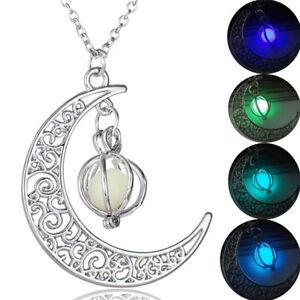 Collana-ciondolo-mistico-pietra-fluorescente-pendente-luminoso-LUNA-SFERA-donna