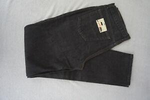 CAROCHE-Herren-Men-Jeans-high-waist-Hose-36-36-W36-L36-schwarz-black-NEU-ad26