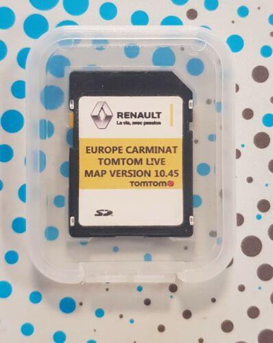 RENAULT CARMINAT Live 10.45 Full Europe UK 2020//2021 Carte UPDATE SD clio megane