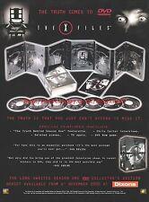 The X Files Season One Collectors Edition 2000 Magazine Advert #7816