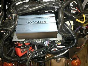 Harley-KAC-M1824BT-amp-mount-and-wiring-kit-06-13-batwing-aftermarket-radio