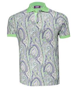 Pal Zileri New Men/'s Turquoise Cotton Polo Shirt size XS M L 3XL