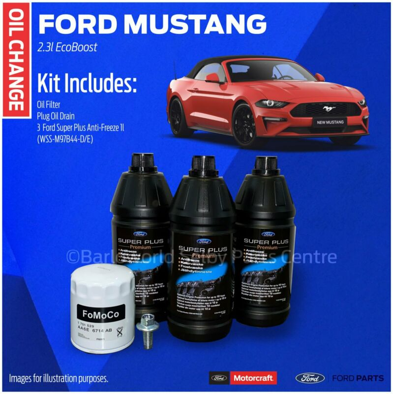 New Genuine Ford Mustang Oil Change