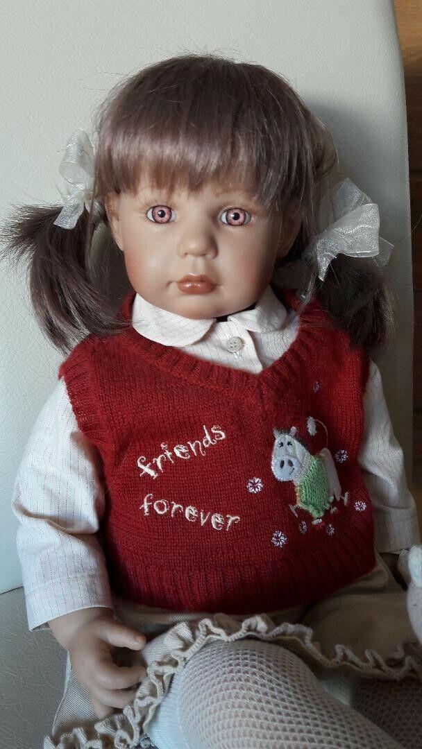 Muñeca de coleccionista  Nice  de brigitte Paetsch, Zapf Creation lim. edición 2002