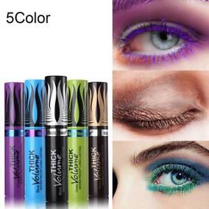 4D-Silk-Fiber-Lash-Mascara-Waterproof-Colorful-Curling-Eyelash-Extension-Thick-D