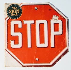 Vintage-THE-SIGN-BOOK-GOLDEN-SHAPE-Children-039-s-BOOK-SIGNS-DUGAN